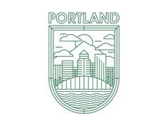Portland badge - Kyle Emry