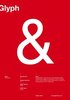 Joe Stone Graphic Design #graphic design #ampersand #glyph