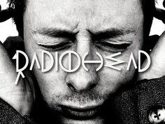 Radiohead type by Sandra Guerrero.   #radiohead #typography #type #typo #typedesign #Murcia #font #music #geometric #dribbble