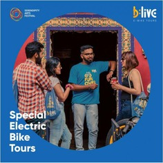 While you immerse yourself in art and culture at #SerendipityArtFestival2019, here's something more you can do. Immerse yourself in lesser-known stories, little anecdotes, lip-smacking feasts and fascinating facts of Panjim on BLive X Serendipity Special Electric Bike Tour. Book on www.blive.co.in using 'BLiveSerendipity200' and avail RS 200 off. Follow BLive on IG - @letsblive for more details.