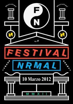 Nn Rr Ma Aa Ll #festival #2012 #nrmal #marzo #studio #monterrey #savvy