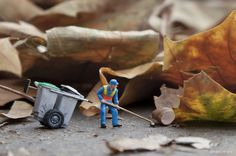 Street Art by Slinkachu 4 #miniature #diorama #art