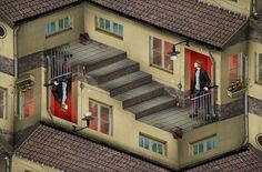 optical-illusions-photo-manipulation-surreal-eric-johansson-5 #cgi #optical #illusion #photoshop