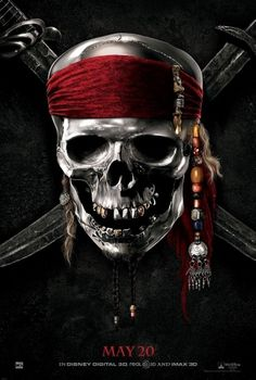 pirates_of_the_caribbean_on_stranger_tides_xlg.jpg (1013×1500) #movie #key #art #poster #pirates