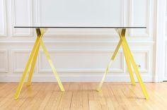 Tipi by Hélène Degonzague #minimalist #design #table
