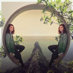 We've Been Waiting For You - Anastasia Serdukova, 2016 #photo #doubleexposure #multipleexposure