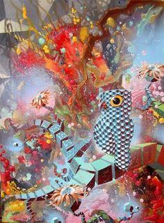 Damon Soule - San Francisco, CA Artist - Painters - Artistaday.com #soule #damon