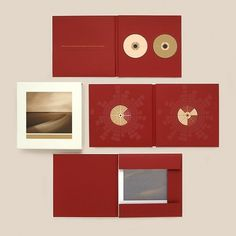 "Brian Eno ""Small Craft On a Milk Sea"" Confirmed on Warp, Preorder Wed. #packaging #album art #geometric #red #brian eno #small #craft #o"