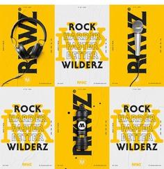 Rockwilderz ENT – Visual Identity
