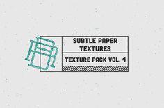 Texture Pack Vol. 4 Subtle Paper ~ Textures on Creative Market - Rob Brink #stamp #subtle #design #graphic #texture #grid #paper #typography