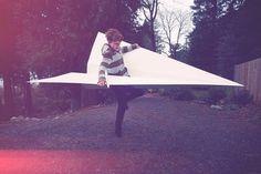 Adrien-Deggan-Paper-Plane6.jpg (900×600) #paper plane #adrien deggan