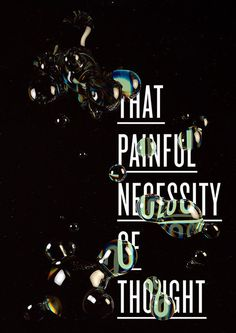 Painful by molistudio on Behance #bubbles #dispersion #distortion #poster #type #rainbow #crytal #typography