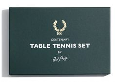 | Allan Peters #noble #tennis #packaging #perry #crest #studio #logo #fred #table