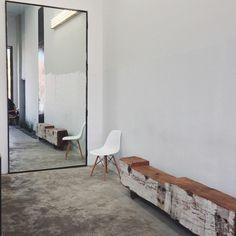 Neutre/sol/bois #interior #design #decor #mirror #deco #decoration