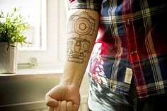 Camera Tattoo | Flickr - Photo Sharing! #camera #tattoo #photography