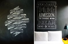 Graphic-ExchanGE - a selection of graphic projects #lettering #blackwhite #typography