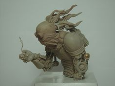 Barney The Steamthing by The-Small on deviantART #sculpture #steampunk