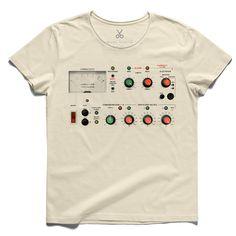 #rams #beige #tee #tshirt #kerouac #button #switch #controlpanel #ditherrams #minimal #braun
