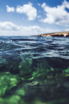 Water :: www.kallelundholm.com #ripples #water #surface #photography #blue #waves