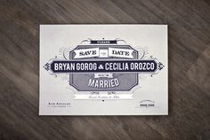 married_card_front #type #invitations #vintage #beautiful #wedding
