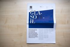 Glasoffil | vbg.si - creative design studio #newspaper