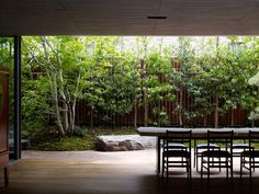 KEIJI ASHIZAWA DESIGN modern House S 5 #courtyards #interiors #architecture #landscapes #green