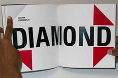 Graphic Designer and Photographer | Shannon Dobrow #fold #blood #movie #diamond #book #dobrow #shannon #typography