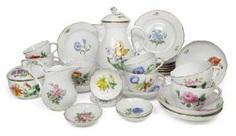 COFFEE SERVICE, MEISSEN, #Sets #Teasets #Porcelainsets #Antiqueplates #Plates #Wallplates #Figures #Porcelainfigurines #porcelain