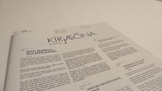 La Nouvelle #design #graphic #editorial #newspaper