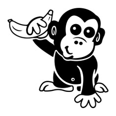 See more icon inspiration related to monkey, banana, wordpress, web design, templates, website, cyberchimps, logotype and logo on Flaticon.