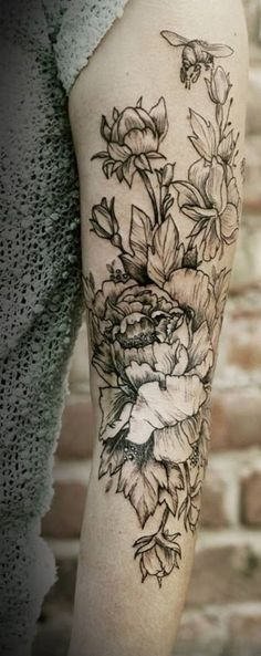 50 Peony Tattoo Designs and Meanings #meanings #tattoo #peony #designs