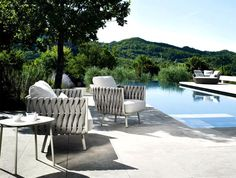 Fabric Outdoor Furniture by Monica Armani - #design, #furniture, #modernfurniture, #outdoor,