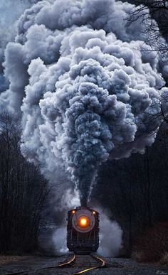Vintage Trains by Matthew Malkiewicz #inspiration #photography #art