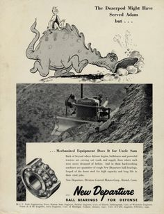 JESS3 - Blog / Dr. Seuss: Before He Drew Great Children's Illustrations, He Drew Great Ads #seuss #cartoon #advertising