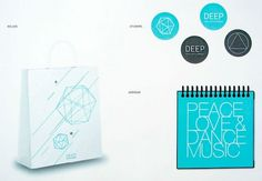 Graphic-ExchanGE - a selection of graphic projects #2009 #festival #type #logo #fest #deep #bag #sticker #typography