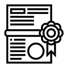 See more icon inspiration related to document, award, files and folders, sports and competition, certification, quality, winner, certificate and diploma on Flaticon.