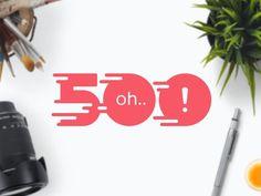 500 #logo