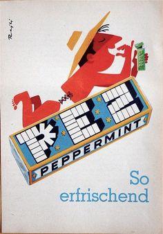 Vintage Catalog Advertisements #pez