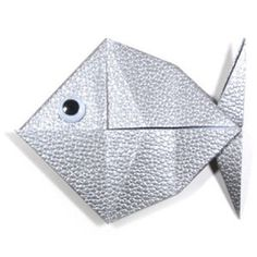 How to make a traditional origami fish (http://www.origami-make.org/howto-origami-fish.php)