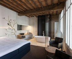 Chic Hotel Decor - #hotel, #interior, #design