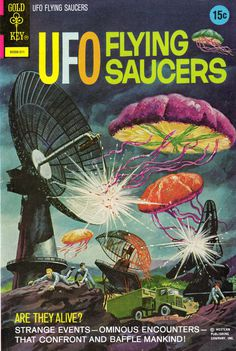 photo #flying #illustration #ufo #saucers
