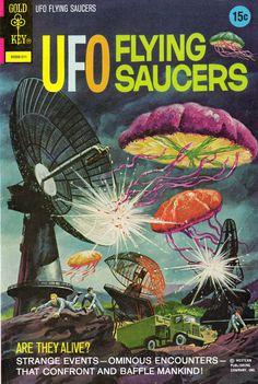 photo #flying #illustration #ufo #saucers