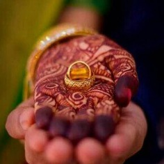 Engagement Rings shoot idea Along With Your Mehendi