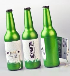 beer with grass on the label