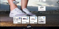 10 sites web pour trouver chaussure à son pied - webdesign-inspiration #inspiration #shoes #webdesign