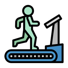 See more icon inspiration related to gym, run, walk, sports and competition, work out, wellness, fitness, treadmill, training, electronics, train and exercise on Flaticon.