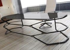 Decor NURUS Hexa Desk Minimalist #interior #design #decor #home #furniture #architecture
