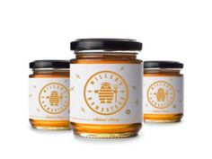 Natural Honey package label