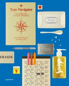 Type Navigator, The Independent Foundries Handbook #cover #design #book #typography