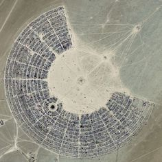 source: burningman.com #photography #aerial #landscape